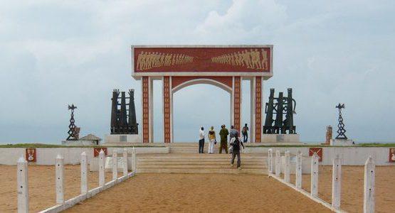 Visite touristique sur la route de l'esclavage